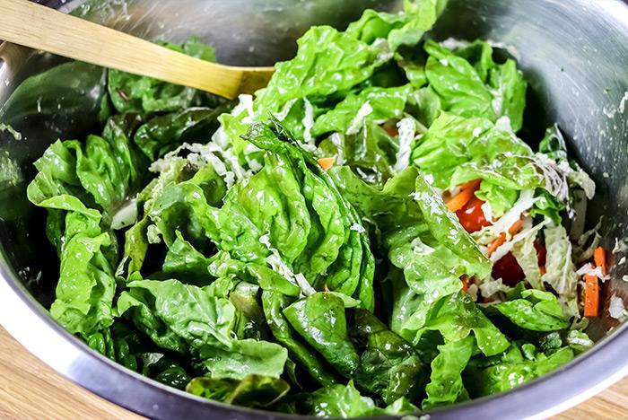 Dressed Salad