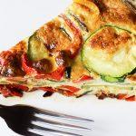 Bell Pepper, Zucchini & Provolone Cheese Frittata Recipe