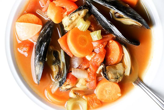 Italian Mussel Soup Recipe
