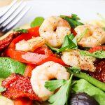 Avocado & Shrimp Tostadas Recipe