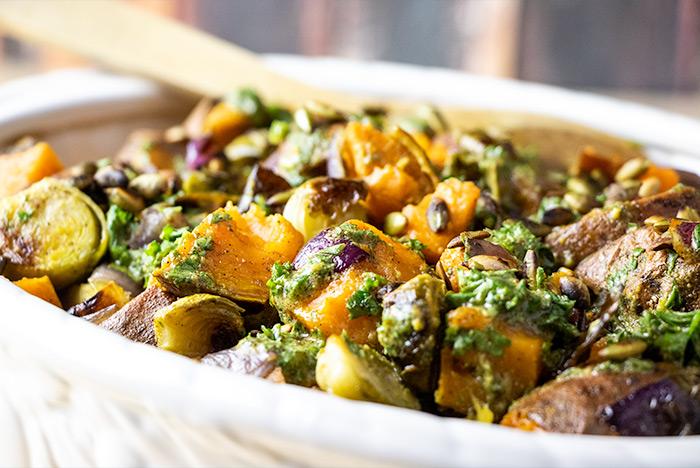 Sweet Potato Vegetable Casserole