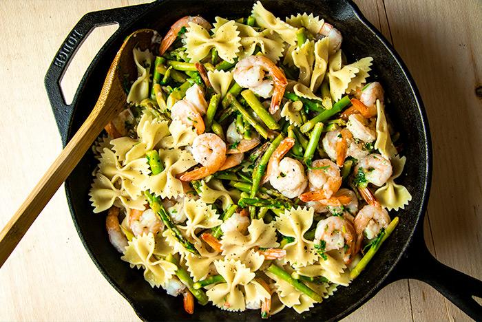 Shrimp Skillet Dinner