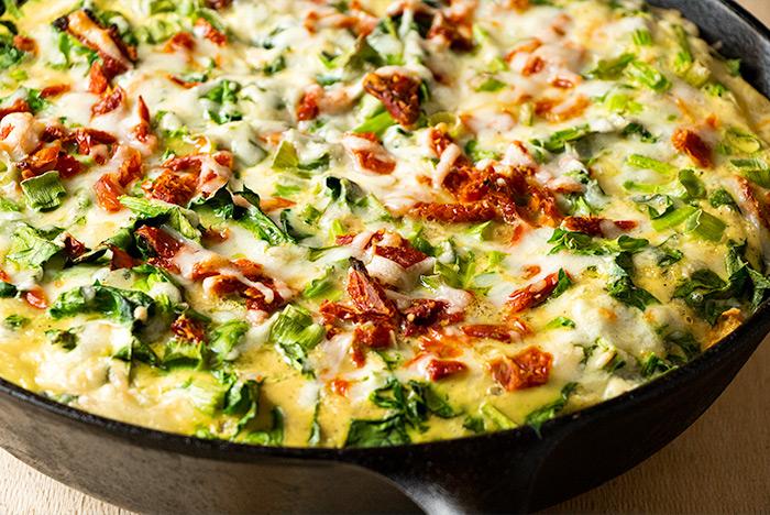 Egg & Cheese Skillet Breakfast