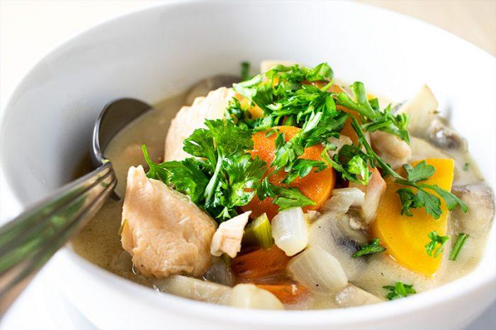 Creamy Salmon Soup