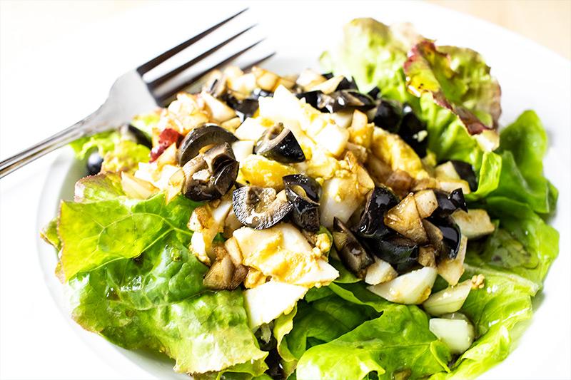 Egg & Olive Salad