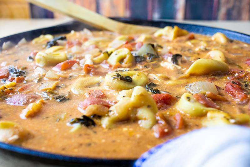 Creamy Tortellini Dinner