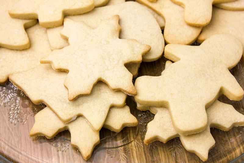 Cooled Sugar Cookies