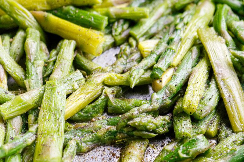 Asparagus With Seasoning 5-31