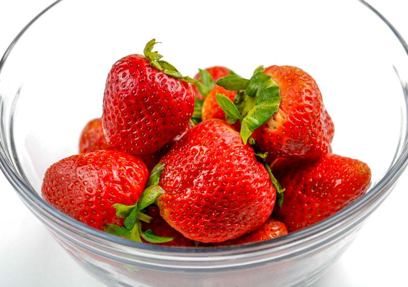 Freshly Washed Strawberries 6-19