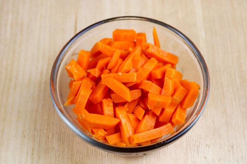 Chopped Carrots 7-22