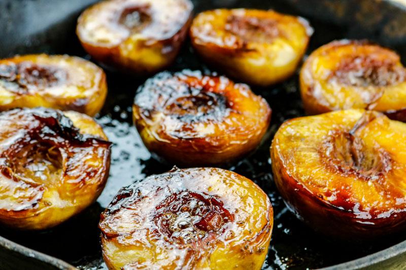 Roasted Peaches 8-19
