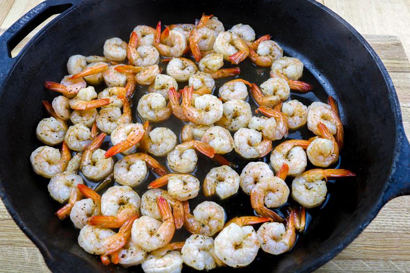 Cast Iron Shrimp 9-2